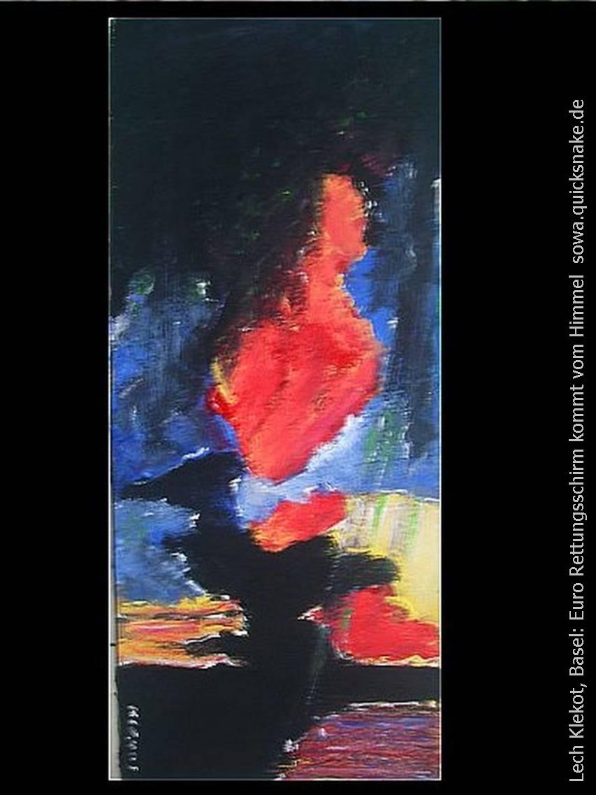 Lech Klekot: Retungsschirm kommt vom Himmel