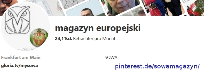 magazyn europejski sowa pinterest