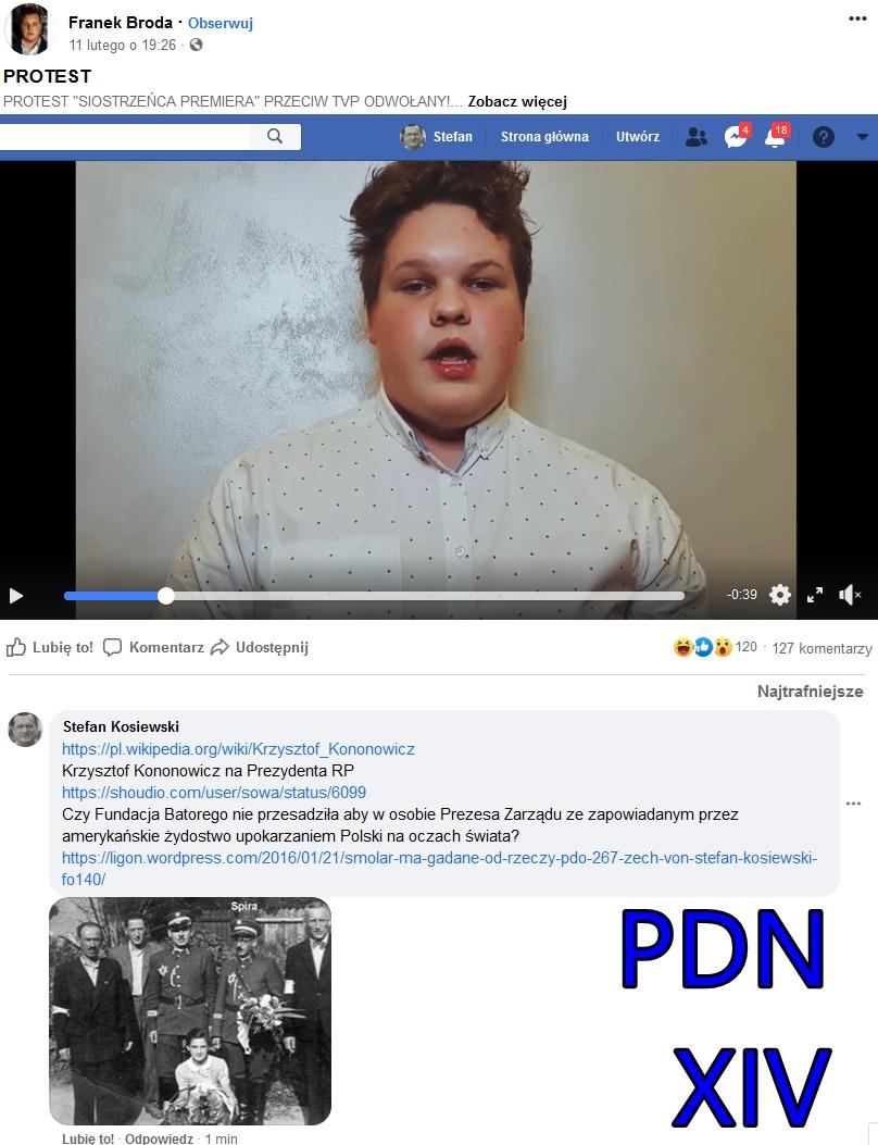 PDNXIV Screenshot_2020-02-13 PROTEST kononowicz franek