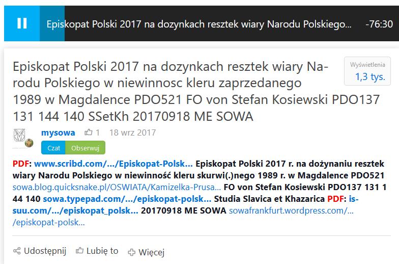 Screenshot_2018-08-13 Episkopat Polski 2017 na dozynkach resztek wiary Narodu Polskiego w niewinnosc kleru zaprzedanego 198[...]