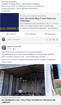 """Prof. Dr. Hubert Gindert Drodzy przyjaciele """"Forum Katolików Niemieckich"""""""